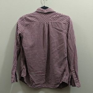 Uniqlo Tops - Uniqlo Gingham Button-Up Shirt